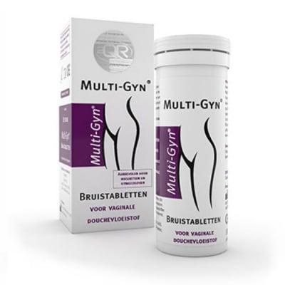 Bioclin Multi-Gyn 10 eff. tablets for vaginal douching fluid / Биоклин Мулти Гин 10 еффервесцентни таблетки за вагинална промивка