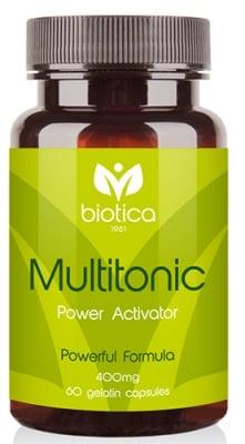 Multitonic 400 mg 60 capsules / Мултитоник 400 мг. 60 капсули