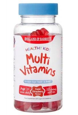 Multivitamins kids 30 chewy softies Holland & Barrett / Мултивитамини за деца 30 желирани мечета Holland & Barrett