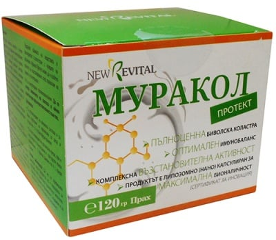 Muracol protect powder 120 g / Муракол протект прах 120 гр.