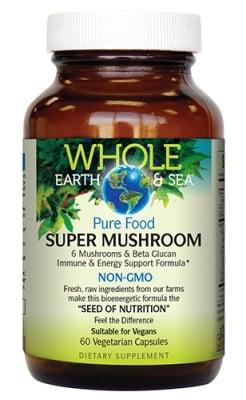 Super mushroom 700 mg 60 capsules Natural Factors / Супер машрум 700 мг. 60 капсули Натурал Факторс