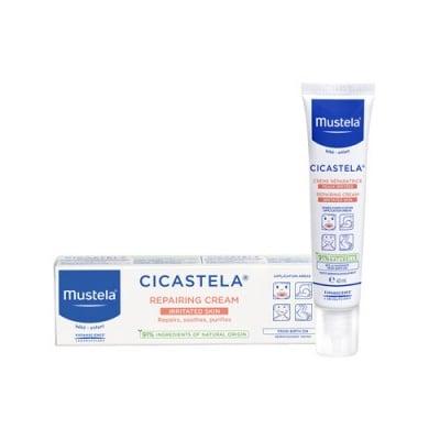 Mustela Bebe Cicastela Repairing cream 40 ml / Мустела Цикастела Възстановяващ крем 40 мл.