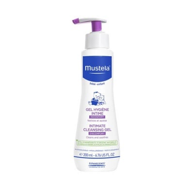 Mustela Bebe Intimate cleansing gel 200 ml / Мустела Интимен гел за бебета и деца 200 мл.