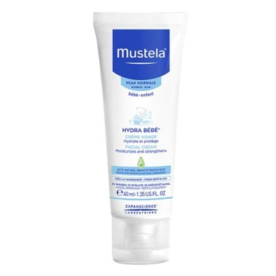 Mustela Hydra Bebe Face cream 40 ml / Мустела Хидра Бебе Хидратиращ крем за лице 40 мл.