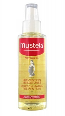 Mustela Maternite Stretch marks prevention oil 105 ml / Мустела Матерните Олио против стрии 105 мл.