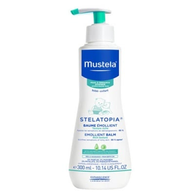 Mustela Stelatopia Emolient balm 300 ml / Мустела Стелатопиа Емолиентен балсам за атопична кожа 300 мл.