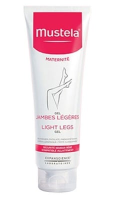 Mustela 9 Months gel cream light legs 125 ml / Мустела 9 Месеца Гел - крем при умора и тежест в краката 125 мл.