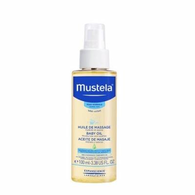 Mustela Bebe Massage oil 100 ml / Мустела Бебе Масажно олио - спрей 100 мл.