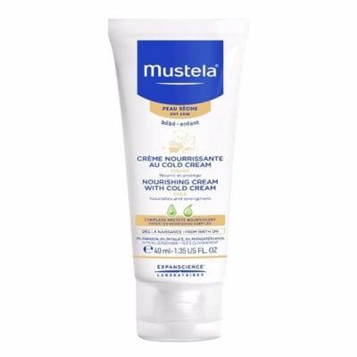 Mustela Bebe Cold cream nutri-protective 40 ml / Мустела Бебе Колд крем за лице за суха кожа 40 мл.