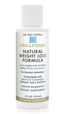 Cellfood Natural Weight loss formula drops 118 ml. / Селфуд Натурал Уейт лос формула капки 118 мл.