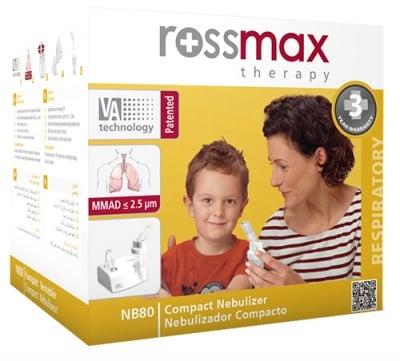Compact nebulizer Rossmax NB80 Qutie / Апарат Инхалатор Rossmax NB80 Qutie