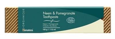 Neem and pomegranate toothpaste 150 g. Himalaya / Паста за зъби Хималая органик нийм с нар 150 гр.
