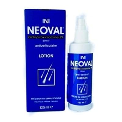 Neoval spray lotion anti dandruff 125 ml / Неовал спрей лосион против пърхот 125 мл.