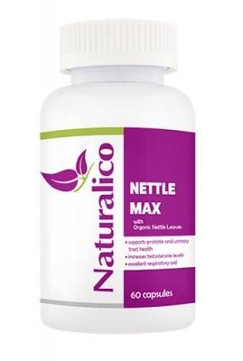 Naturalico nettle max 60 capsules / Натуралико Коприва макс 60 капсули
