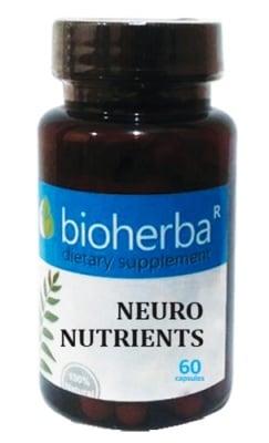 Bioherba Neuro nutrients 60 capsules / Биохерба Невро Нутриентс 60 капсули