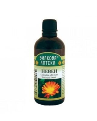 Calendula tincture 100 ml. Herbal Pharmacy / Невен тинктура 100 мл. Билкова Аптека