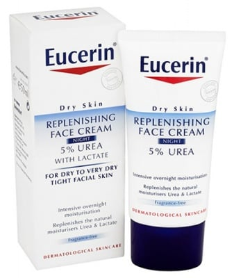 Eucerin Smoothing face creаm night 5 % urea 50 ml / Еуцерин 5 % уреа нощен крем за лице 50 мл.