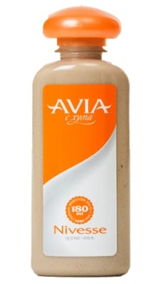 Avia Shower gel with clay Nivese 180 ml. / Авиа Душ гел с хума Nivese 180 мл.