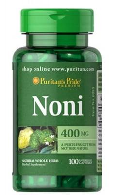 Puritan's Pride Noni 400 mg 100 capsules / Пуританс Прайд Нони 400 мг. 100 капсули