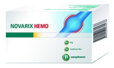 Novarix Hemo 625 mg 60 tablets Neopharm / Новарикс Хемо 625 мг. 60 таблетки Неофарм