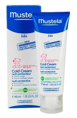 Mustela Bebe Cold cream nutri-protective 40 ml / Мустела Bebe Колд крем за бебе 40 мл.
