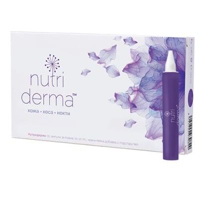 Nutriderma 10 ampoules Naturpharma / Нутридерма 10 ампули Натурфарма
