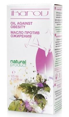 Ikarov Oil against obesity 125 ml. / Икаров Масло против затлъстяване 125 мл.