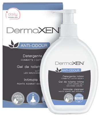 Dermoxen intimate cleanser against bad odours 200 ml. / Дермоксен интимен гел срещу миризма 200 мл.