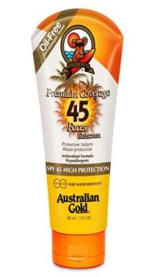 Australian gold premium coverage SPF 45 face lotion 88 ml. / Аустралиан голд лосион за лице SPF 45 88 мл.