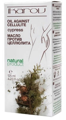 Ikarov Oil against cellulite cypress 125 ml. / Икаров Масло анти-целулит кипарис 125 мл.