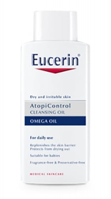 Eucerin Atopicontrol cleansing oil 400 ml / Еуцерин Атопиконтрол измиващо олио за суха и атопична кожа 400 мл.
