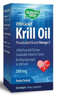 Krill oil 500 mg 30 capsules Nature's Way / Крил Ойл 500 мг. 30 капсули Nature's Way