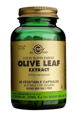 Olive leaf extract 60 capsules Solgar / Екстракт от маслинови листа 60 капсули Солгар