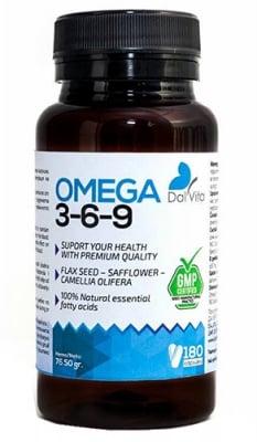 Dalvita Omega 3-6-9 180 capsules / Далвита Омега 3-6-9 180 капсули