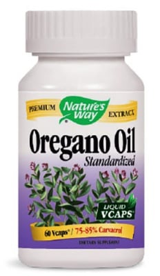 Oregano oil 50 mg. 60 capsules Nature's Way / Риган масло 50 мг. 60 капсули Nature's Way