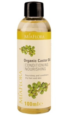 Organic castor oil 100 ml. MIAFLORA / Рициново масло 100 мл. MIAFLORA