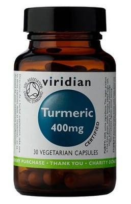 Organic Turmeric 30 capsules Viridian / Куркума Органична 30 капсули Виридиан