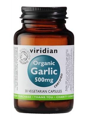 Organic garlic 500 mg 30 capsu