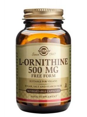 L - Ornithine 500 mg 50 capsules Solgar / L - Орнитин 500 мг. 50 капсули Солгар