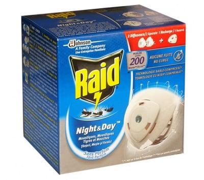 Raid vaporyzer 2 pcs.+ refill day and night / Райд изпарител 2 бр.+ пълнител ден и нощ