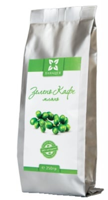 Panacea green coffee 250 g / Панацея Зелено кафе мляно 250 гр.