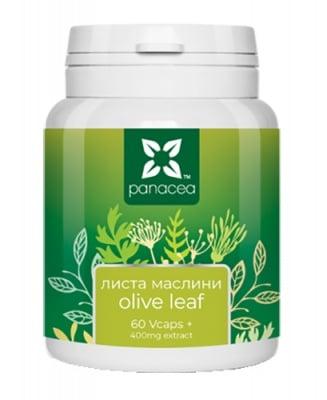 Panacea Olive leaf 400 mg 60 capsules / Панацея маслинови листа 400 мг 60 капсули