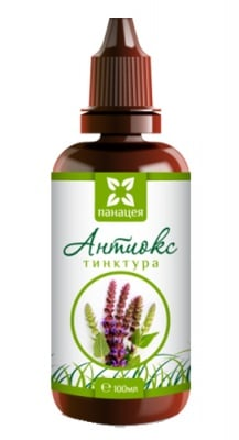 Panacea tincture Antiox 100 ml / Панацея Тинктура Антиокс 100 мл.