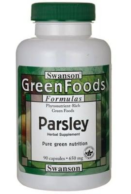 Swanson Parsley 650 mg 90 capsules / Суонсън Магданоз 650 мг. 90 капсули