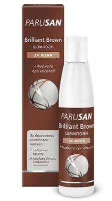 Parusan brilliant brown hair shampoo for women 200 ml / Парусан брилянт браун шампоан за жени 200 мл