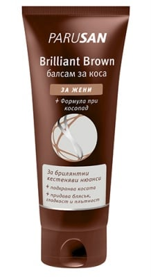 Parusan brilliant brown hair conditioner for women 150 ml / Парусан брилянт браун балсам за коса за жени 150 мл