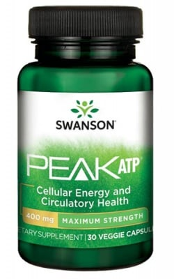 Swanson ATP 400 mg 30 veggie capsules / Суонсън супер мощен АТФ 400 мг. 30 капсули