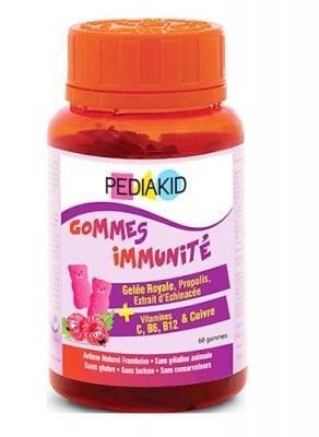 Pediakid immunity gummy bears 60 / Педиакид имунитет дъвчащи мечета 60