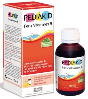 Pediakid Iron + Vitamin B syrup 125 ml. / Педиакид Желязо + Витамин Б сироп 125 мл.