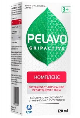 Pelavo gripactive complex syrup 120 ml / Пелаво Грипактив комплекс сироп 120 мл.